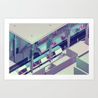 subway Art Prints featuring Subway by Timothy J. Reynolds