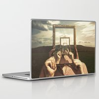 frame Laptop & iPad Skins featuring Empty Frame by Seamless