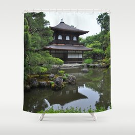The Temple of Shining Mercy Shower Curtain