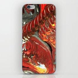 Lava Tubes iPhone Skin
