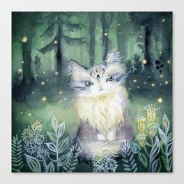 Trust Cat Canvas Print