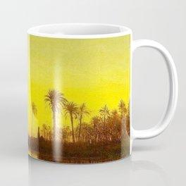 Nile River, Egypt landscape painting by Felix Ziem Coffee Mug