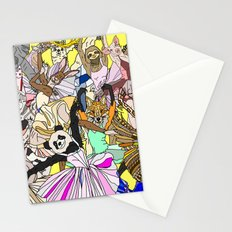Party Animals Dancing Stationery Cards