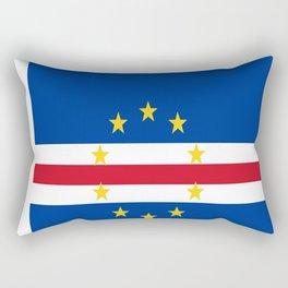 Flag of Cape Verde Rectangular Pillow