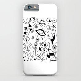 Joan Miro Peces De Colores (Colorful Fish) T Shirt, Artwork Reproduction iPhone Case