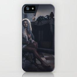Tu m'as promis V iPhone Case
