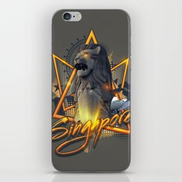 Singapore's Special iPhone Skin