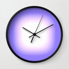 Periwinkle Blue  Wall Clock