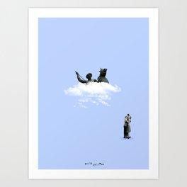 Cupido in action Art Print