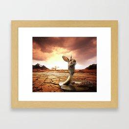 Snabbit Framed Art Print