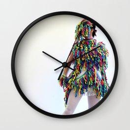 Fringe Panic Wall Clock