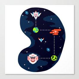 Overworld: Space Canvas Print