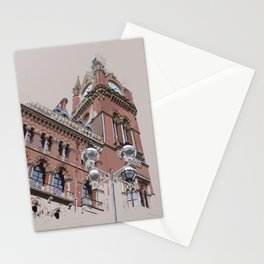 St Pancras as a memory Stationery Cards