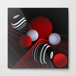 converging lines -3- Metal Print