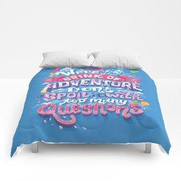 Brink of Adventure Comforters