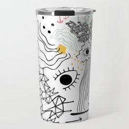 Eye of the Doodle Travel Mug
