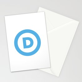 Democratic Party Logo Stationery Cards