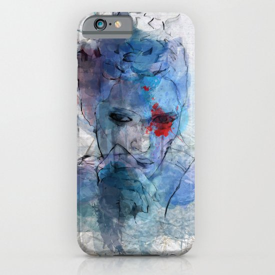 blue lover iPhone & iPod Case
