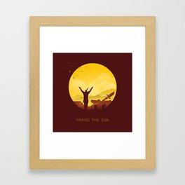 Solaire (Dark Souls) Framed Art Print