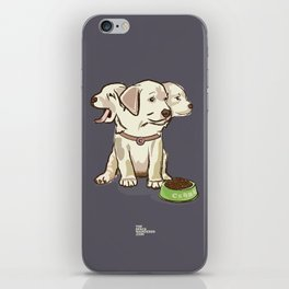 Cerberus Puppy iPhone Skin