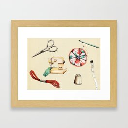 Sew & Sew  Framed Art Print