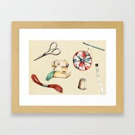 Sew & Sew  Framed Art Print
