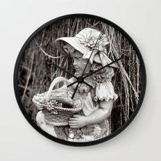 Under the Willow Tree III Wall Clock