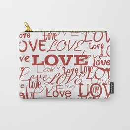 Love, love, love! Carry-All Pouch