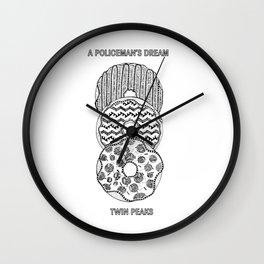 Twin Peaks - Donuts Wall Clock