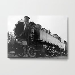 old steam locomotive Metal Print