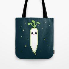 Happy Pixel Daikon Tote Bag