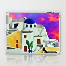 Greek Island Sunset Laptop & iPad Skin