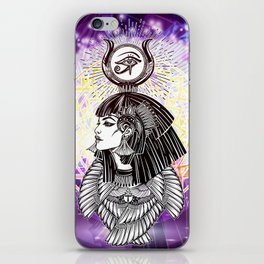 Goddess Isis and the Reigning Light iPhone Skin