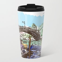 Sketches from Italy - Venice 01 Metal Travel Mug