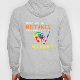 Only Happy Little Accidents Art Shirt Hoody