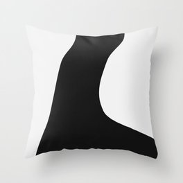 Between Fluff And Arms Throw Pillow
