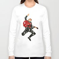 mcfly Long Sleeve T-shirts featuring Marty Mcfly by A Deniz Akerman