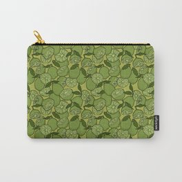 Lime Greenery Carry-All Pouch