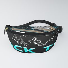Rock the Moutains DesignIAlpin Racer Racing Freestyle Speed Fanny Pack