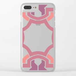 LILAS SQUARE Clear iPhone Case