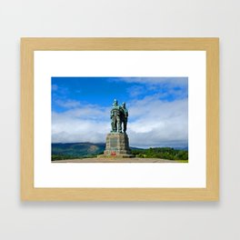 Commando Memorial 4 Framed Art Print
