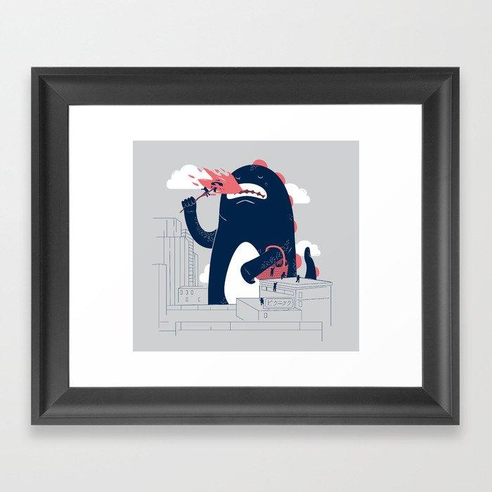 Sunday Picnic Framed Art Print