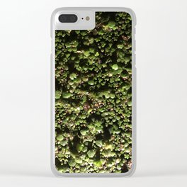 Ivy Leagues. Fashion Textures Clear iPhone Case