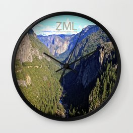 Valley View Wall Clock