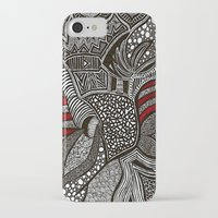 wave iPhone & iPod Cases featuring Wave by Lauren Moore