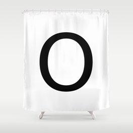 Capital O Shower Curtain