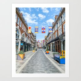 London Bond Street Photo Art Print