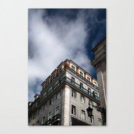 City Skies 1 Canvas Print