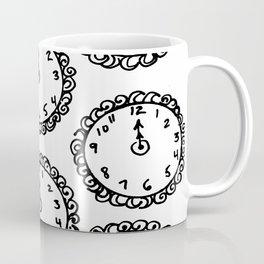 Tick Tock Clocks Coffee Mug