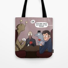 House Rules - Doctor Who Tote Bag